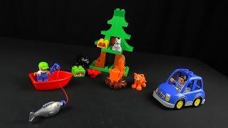 Видео обзоры LEGO Duplo Рыбалка в лесу