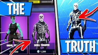 The TRUTH About the Skull Trooper Skin in Fortnite! (How to Get SKULL TROOPER Skin in Fortnite 2018)