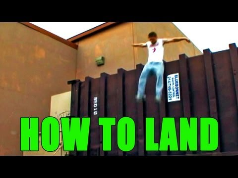 PARKOUR ACADEMY (HOW TO LAND)