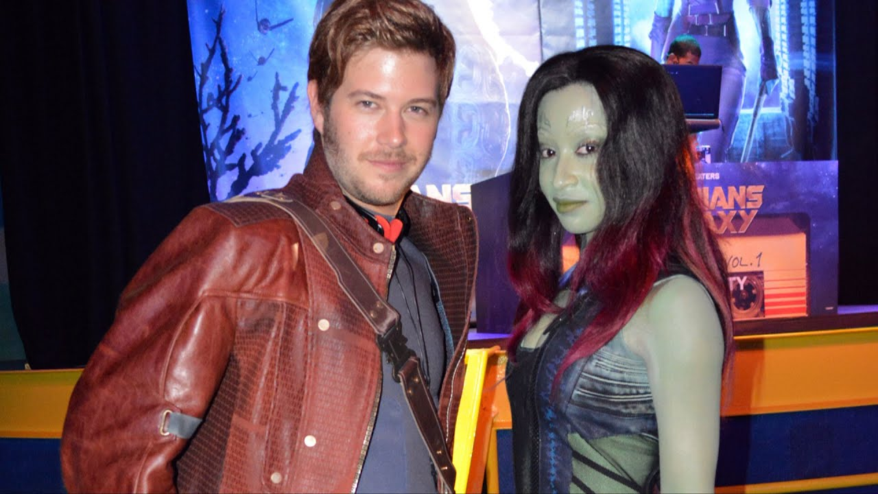 guardians of the galaxy meet star lord actor