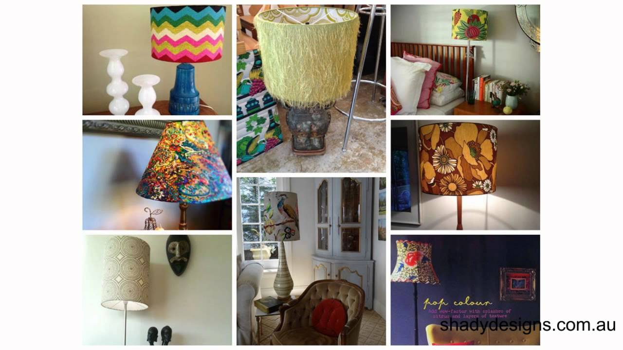 Custom Lamp Shade Shapes For Table Lamps And Floor Lamps