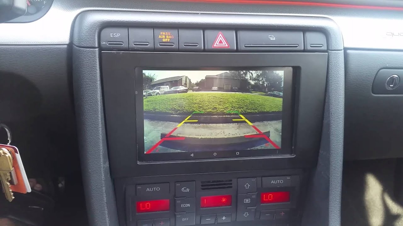 Audi A4 Backup Camera Not Workingaudi B7 Android Wifi Reverse Wiring Diagram For Q5 2016 Youtube