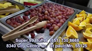 HMONG TV:  Super 99 Bufeet  Best  the brest food in MN