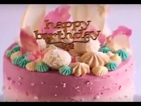 How to make an Awesome Birthday Cake at home YouTube