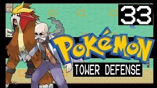 Pokemon Tower Defense Walkthrough - Cinnabar Gym + Shiny Omanyte