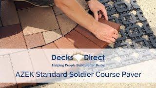 AZEK Standard Soldier Course Paver