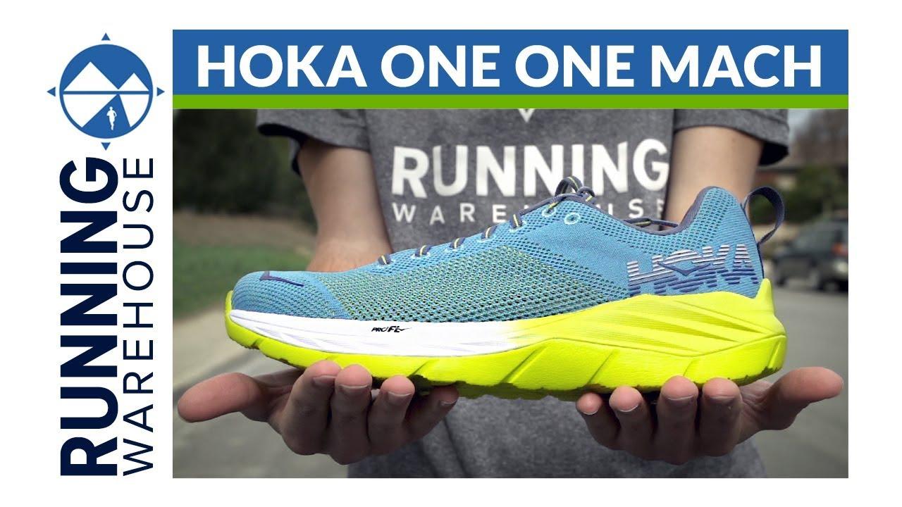 Hoka One One Mach Shoe Review - YouTube