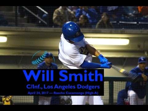 Will Smith, C/IF, Los Angeles Dodgers — April 2017