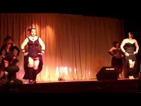 Zubaidah dancing to Personal Jesus at Scottys Talent Night