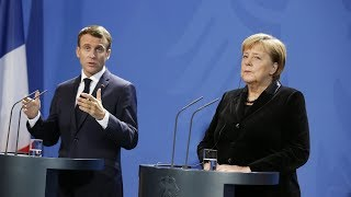 French President Macron says Europe must unite to prevent