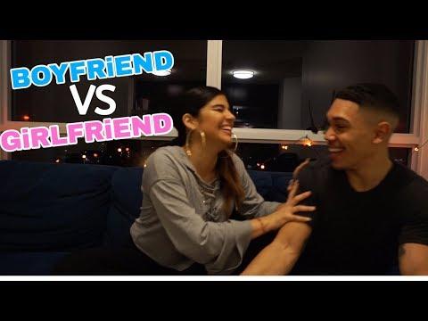 BOYFRIEND VS GIRLFRIEND TAG!