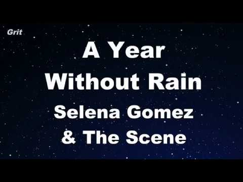 A Year Without Rain - Selena Gomez & The Scene Karaoke 【With Guide Melody】 Instrumental
