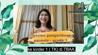 Download Vivien Pangaribuan Testimonial - TBAA Parent (TBAA Virtual Concert 2020)