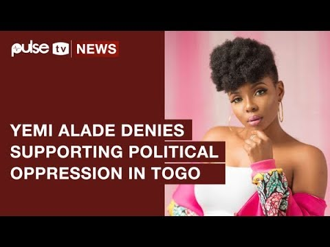 Yemi Alade Denies Supporting Political Oppression In Togo | Pulse TV News