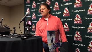 Tony La Russa talks HOF