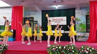 Baì hát Tiếng ca mùa hè của các bé lớp 5 tuổi A1 năm học 2017 - 2018