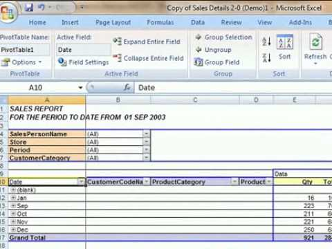 how to put the date on excel