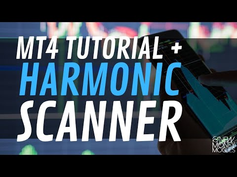 Metatrader4 Mobile Tutorial How To Use Harmonic Scanner On