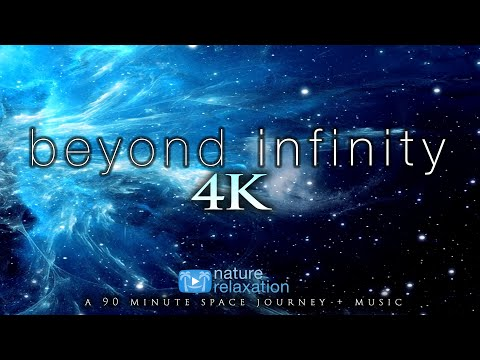 90 MIN SPACE JOURNEY: Beyond Infinity Nature Relaxation Ambient Film W/Instrumental Music By Nimanty