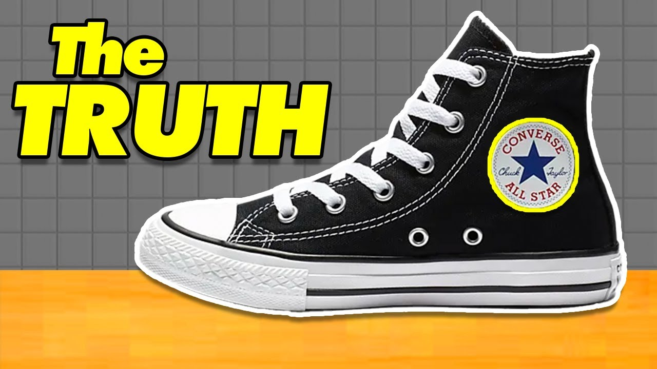 What's Inside Converse (WHY SO UNCOMFORTABLE?) Top 3 ...