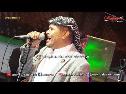 Balasyik Jember| Perdana bawain lagu Sakia- Mustafa Balasyik in Omben Madura