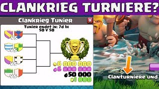 CLANKRIEG TURNIERE in Clash of Clans? || Let
