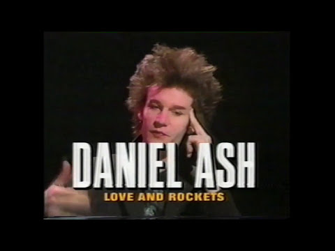 LOVE & ROCKETS MTV 120 MINUTES 1990