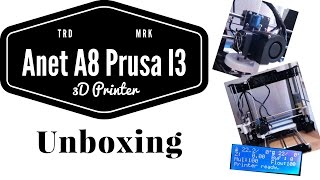 unboxing gearbest a8 desktop 3d printer prusa i3