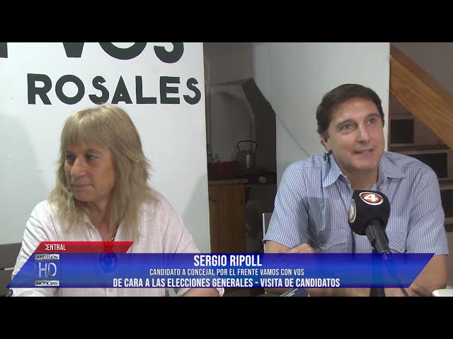 Sergio Ripoll  Daniela Gross Conferencia de Vamos con Vos