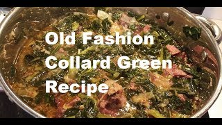 The Best Collard Green Recipe -- Ever Made on Youtube