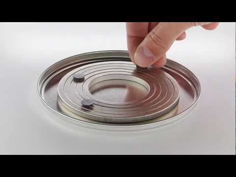 Circular Diamagnetic Levitation Track
