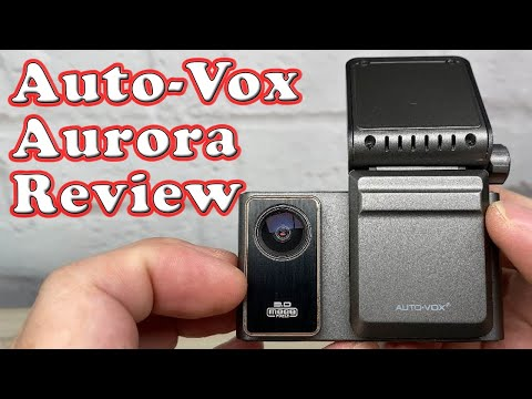 Auto-Vox Aurora Dash Cam Unboxing and Review