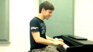 Klavier spielen lernen: Forrest Gump Piano Tutorial für Anfänger Teil 2 sehr einfach - very easy