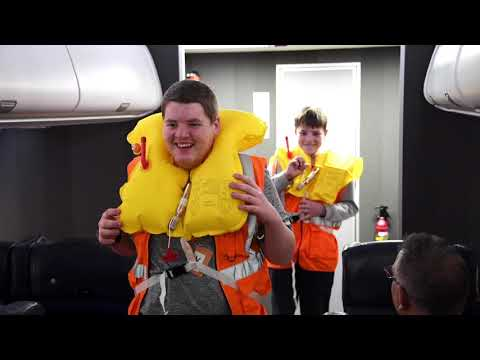 British Airways - A Behind the Scenes Tour for Harvey and Sammy