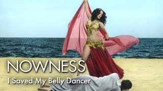 "Salma Hayek in ""I Saved My Belly Dancer"" by Youssef Nabil"