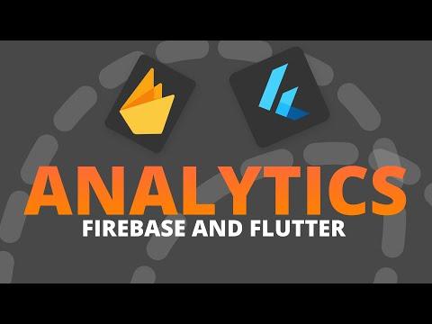 Flutter Analytics using Firebase