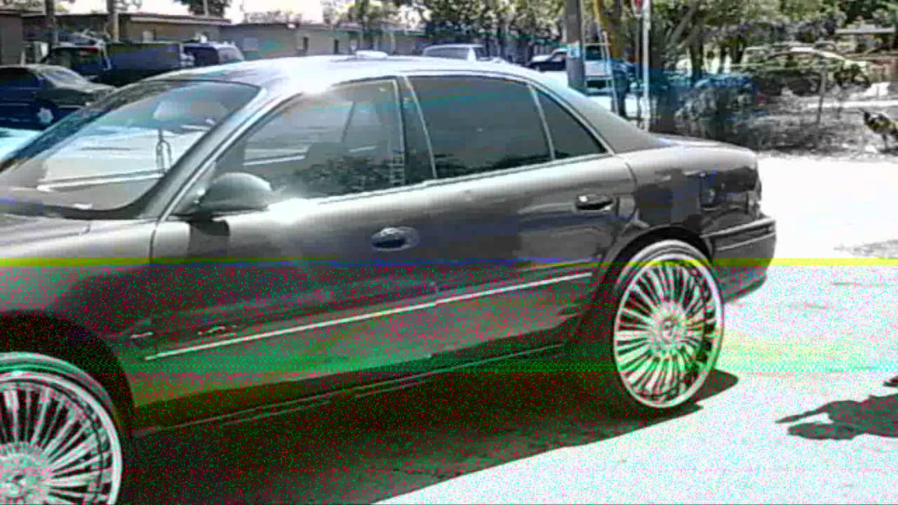 Piefacepresentswhips 98 Buick Century On 24 Dub Spinners