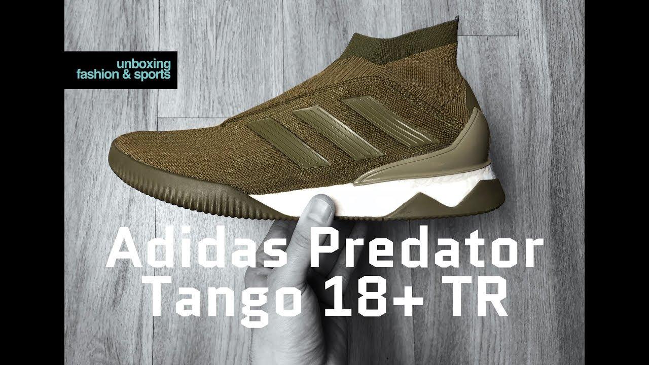best cheap ba9ea f392c Adidas Predator Tango 18+ TR Lone Hunter Pack  UNBOXING  ON FEET  football  boots  2018  4K