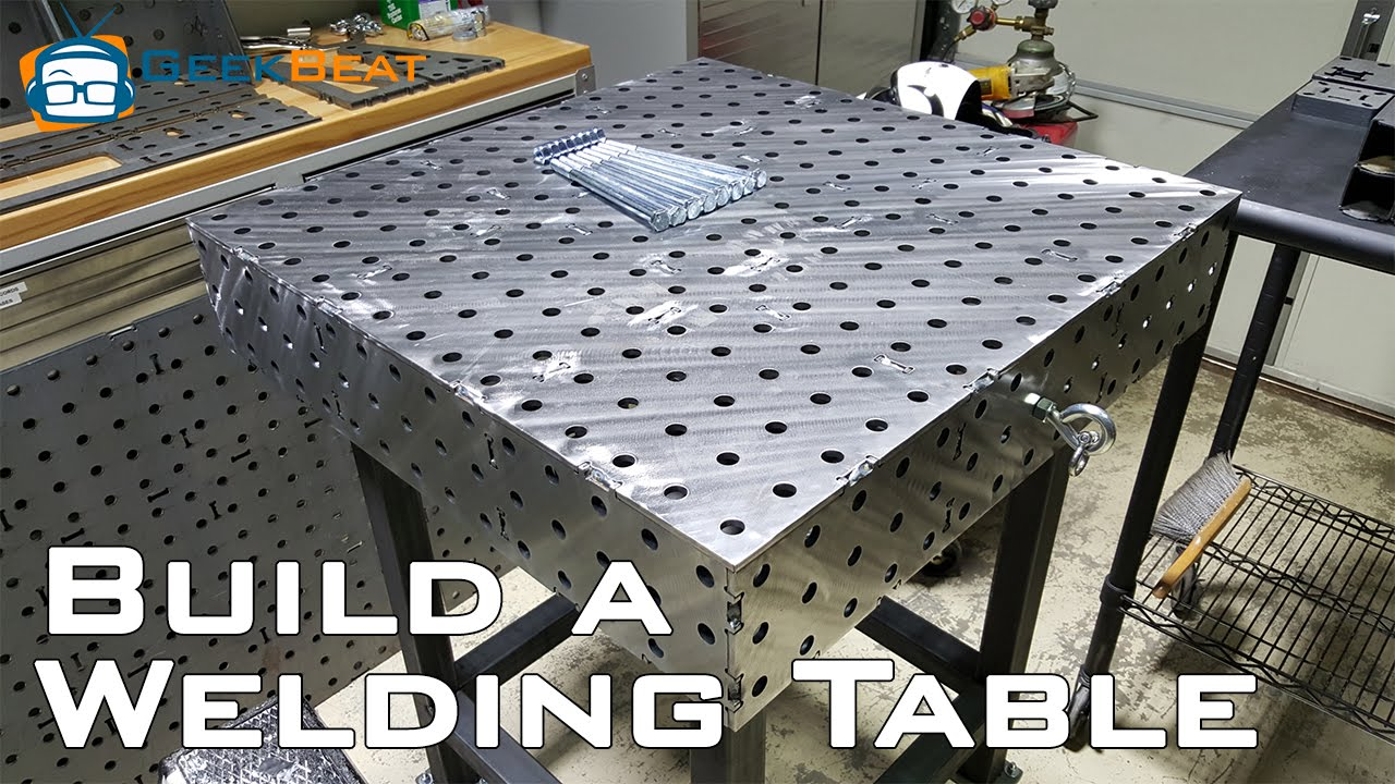 How To Build A Welding Table Youtube