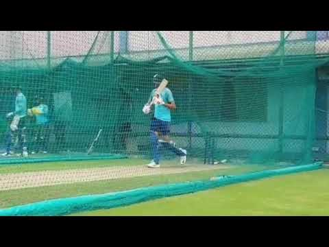 Akshar Patel Batting in Nets