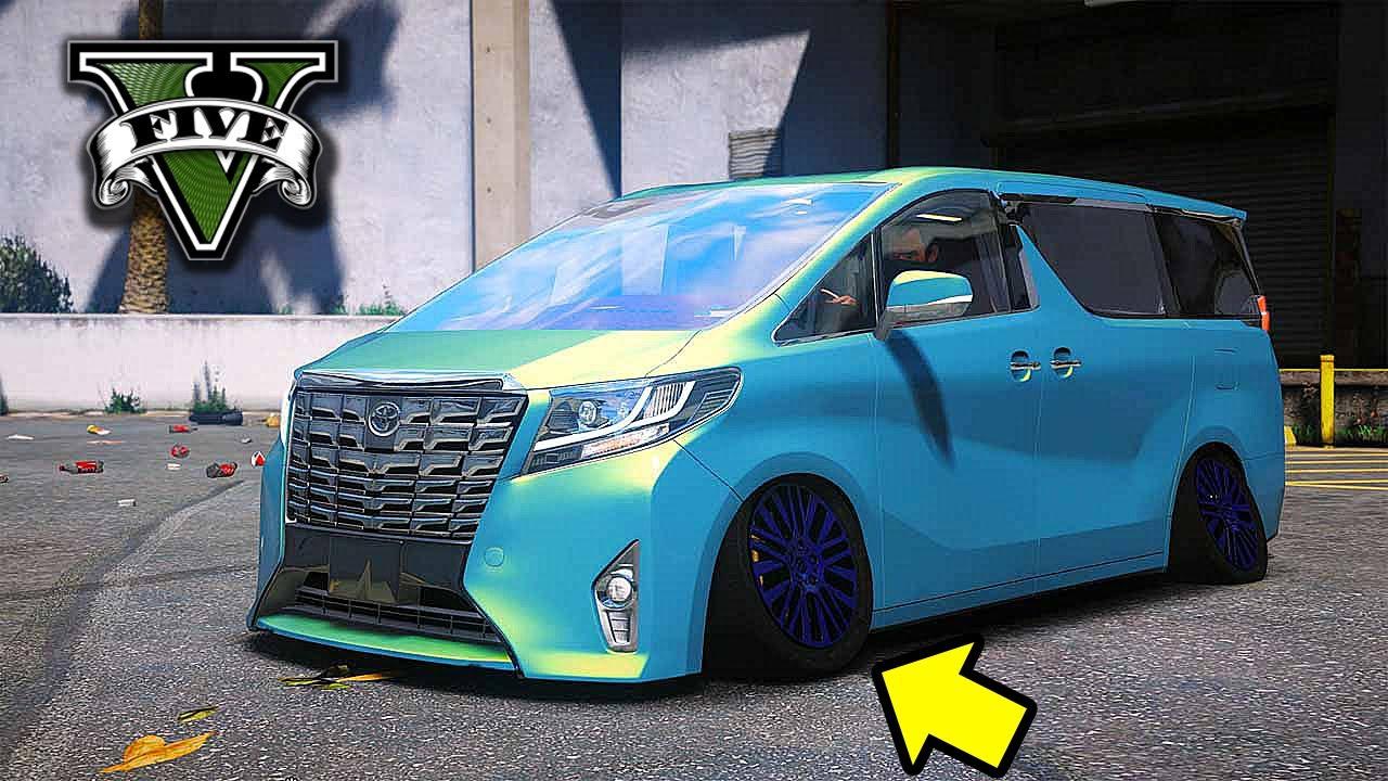 Modifikasi Toyota Alphard Remuk Jadi Keren