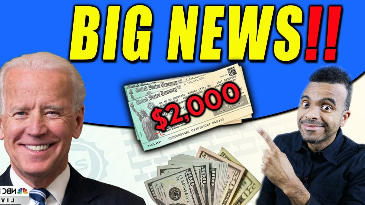 Download WOW!! $2000 Third Stimulus Check Update + $2400 for SSI SSDI Social Security VA + Pandemic Update