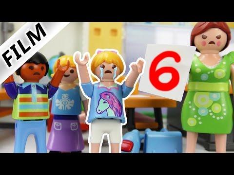 Playmobil Film Deutsch - SCHULVERWEIS!? HANNAH BEIM ABGUCKEN ERWISCHT! Kinderserie Familie Vogel