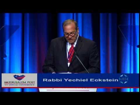 Jpost Annual Conference: Rabbi Yechiel Eckstein