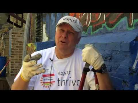Hyatt Chicago Global Volunteer Initiative