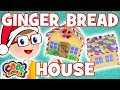 🍭🍬GINGER BREAD HOUSE🍬🍭Christmas Crafts with Crafty Carol 🍭Crafts for Kids 🍭Christmas Crafts