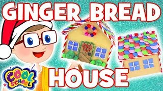 GINGER BREAD HOUSEChristmas Crafts with Crafty Carol Crafts for Kids Christmas Crafts