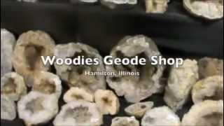 Hunting Keokuk Geodes at Woodie's rock shop