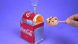 faça um Incrível Mini Forno de Pizza com Latinhas de Refrigerante