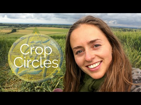 DO UFOS OR ALIENS MAKE CROP CIRCLES? MY 2016 CROP CIRCLE EXPERIENCES
